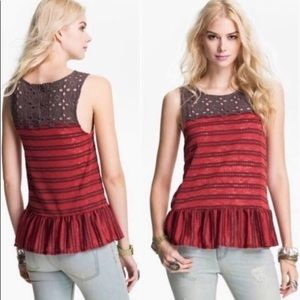 Free People XSmall sleeveless blouse